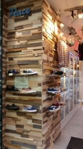 Fachada comercio de ropa