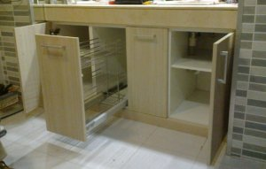 Muebles de baño Interiores en acero